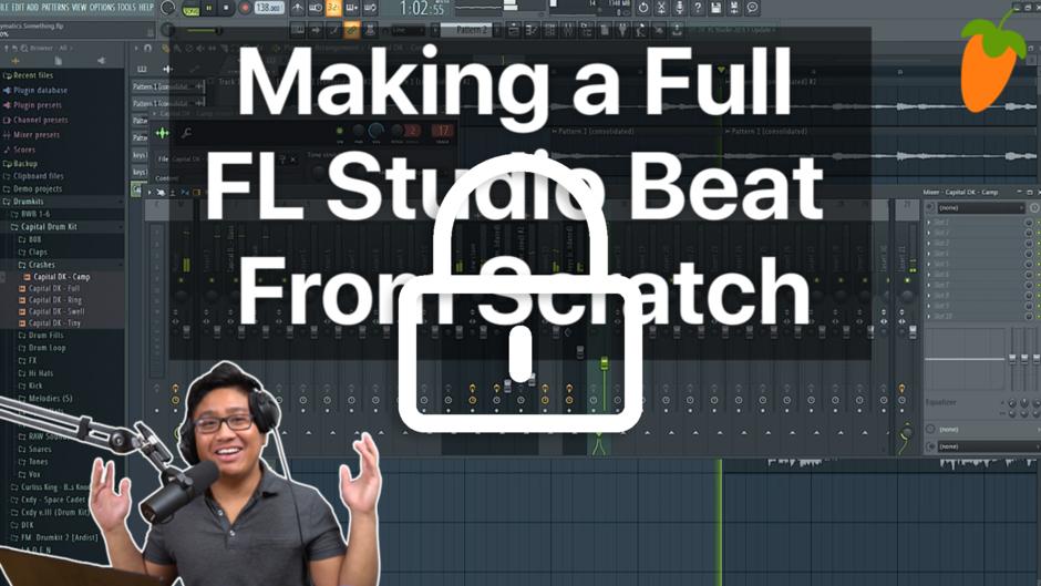 Talleres de producción musical GRATIS (FL Studio, Legion Beats) [en inglés]