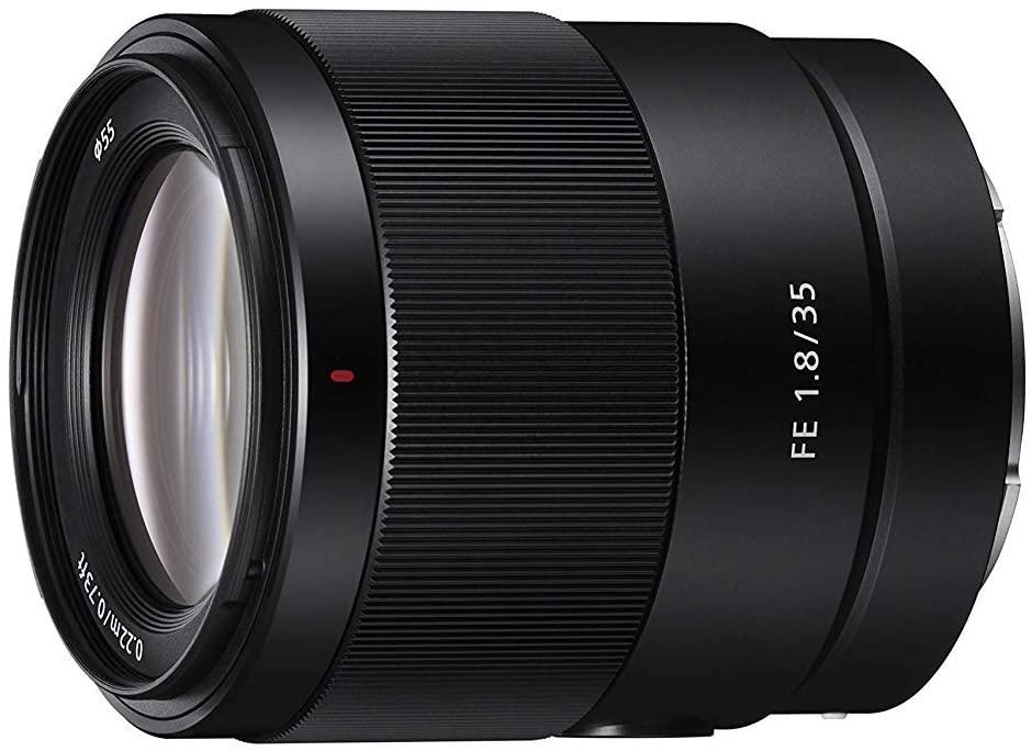 Objetivo 35 mm 1.8 Sony FE (Mínimo histórico)