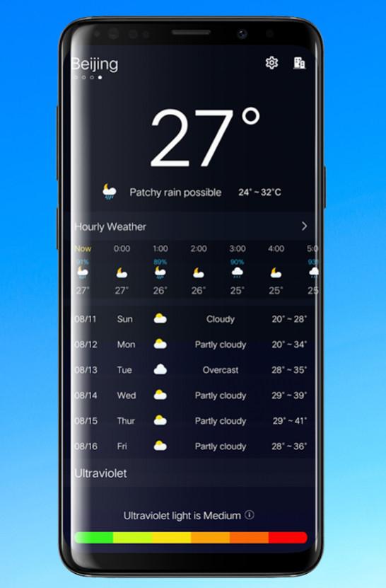 ANDROID: Weather Forecast Pro, Voice Recorder Pro, Power Audio Pro y varias app más (GRATIS)