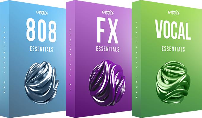 Cymatics Essentials Bundle GRATIS entre otros [Packs de samples de audio]