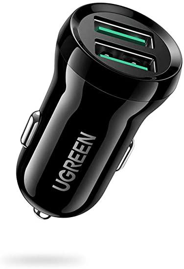 Cargador Coche 2 USB QC 24W UGREEN