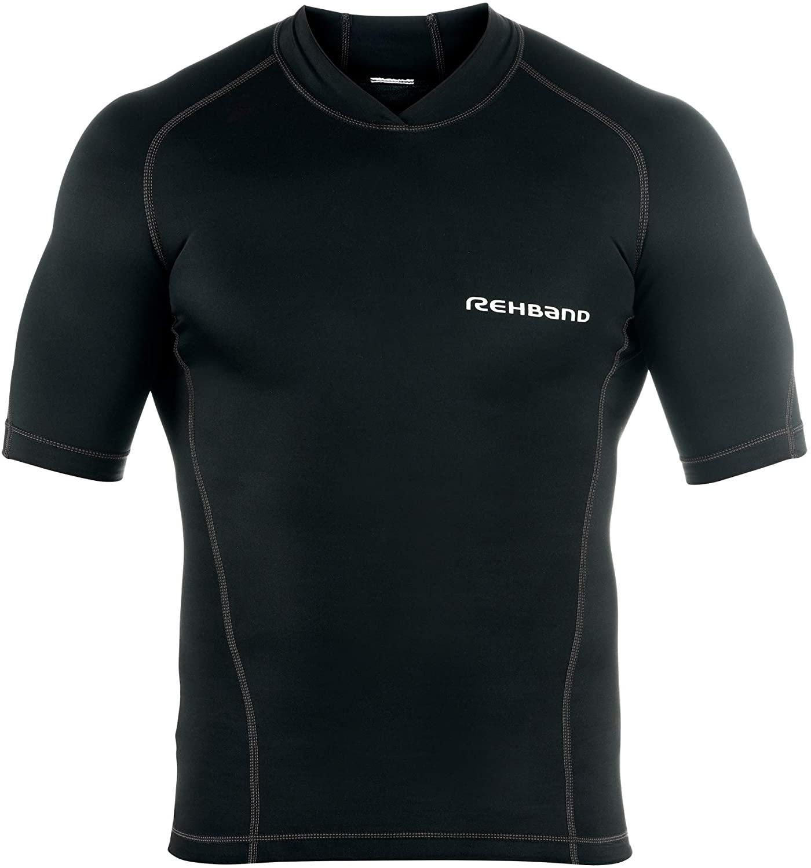 Rehband Qd - Camiseta de compresión para Hombre Talla S
