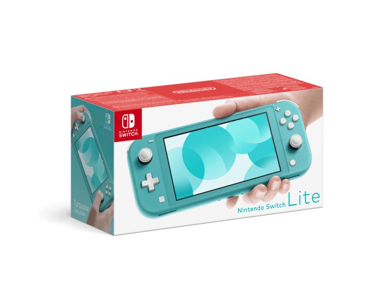 Nintendo Switch Lite Color Turquesa en MediaMarkt Canarias