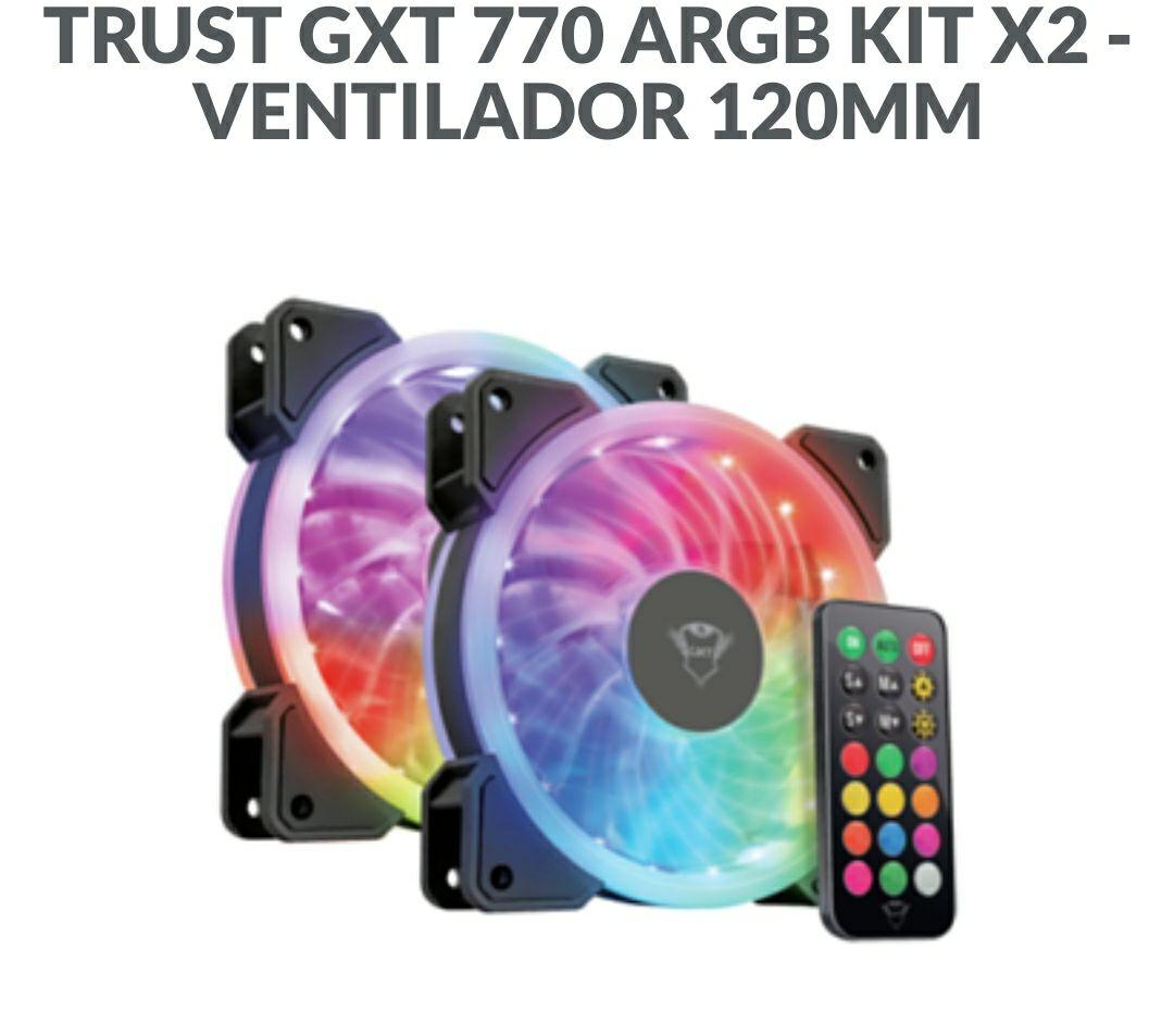 TRUST GXT 770 ARGB KIT X2 - VENTILADOR 120MM