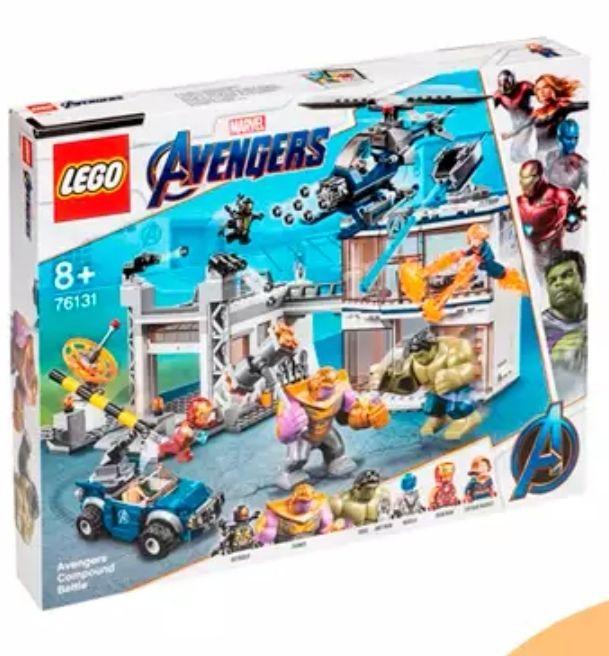 LEGO Marvel vengadores 76131 Kit de construcción (699 piezas) con todas las figuras