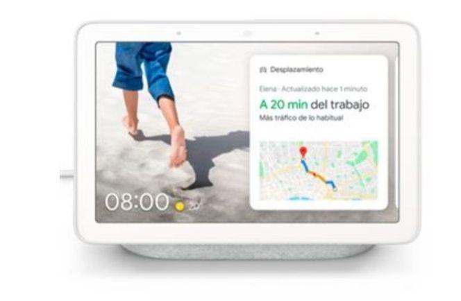 Altavoz Inteligente Google Nest Hub Tiza (Precio socio)