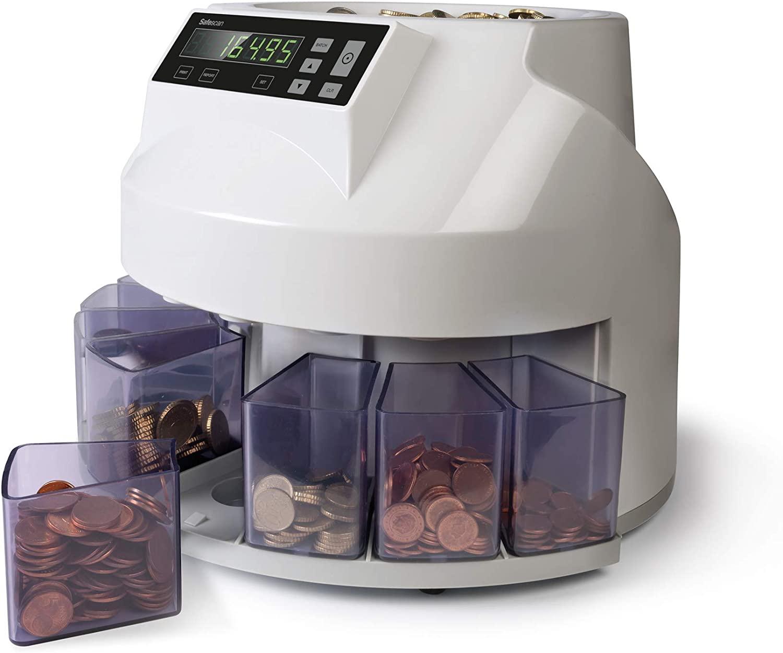 Safescan 1250 - Contadora y clasificadora de monedas (REACOs COMO NUEVO)