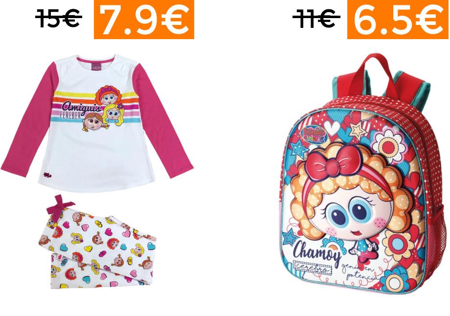 Preciazos en selección de pijamas y complementos Chamoy