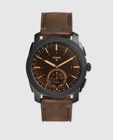 Smartwatch híbrido Fossil Q Machine