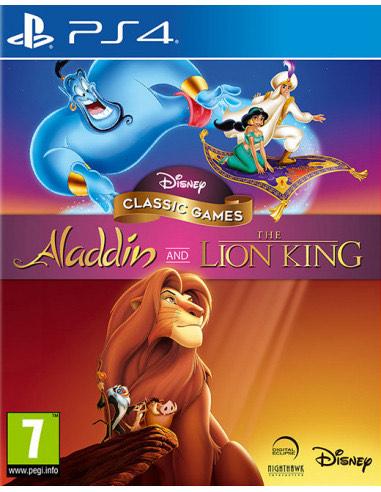 (Alcampo Leganés) Disney Classic Aladdin y El Rey León para PS4