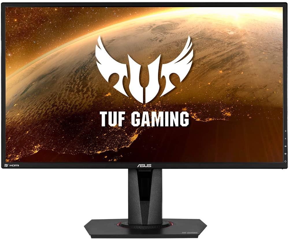 "Monitor Gaming Asus TUF Gaming VG27BQ 27"" LED Wide QuadHD HDR 165Hz 0.4 ms G-Sync"
