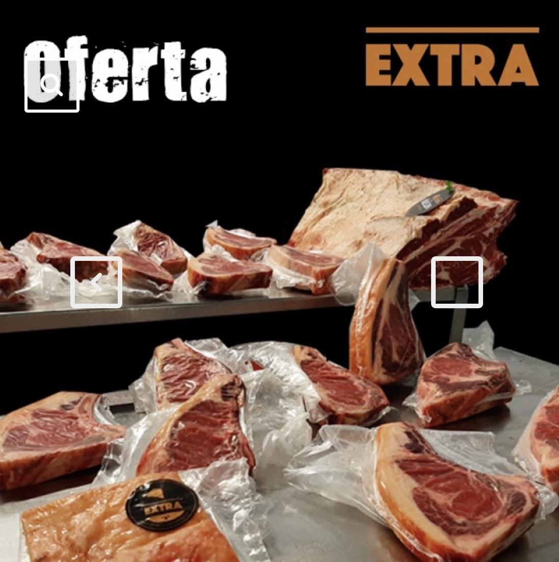 Pack de chuletas de vaca Extra (11kg)
