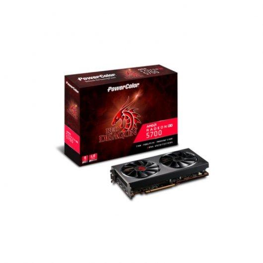 PowerColor Red Dragon AMD Radeon RX 5700 8GB GDDR6 + 2 juegos + 3 meses Xbox Game Pass