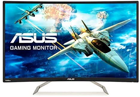 "ASUS Monitor 31,5"" FHD 144 Hz, Curvo"