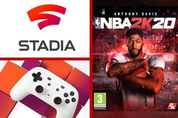 NBA2K20 a 3 euros en Stadia Pro