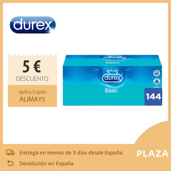 Pack 144 condones Durex 33€ (desde España)