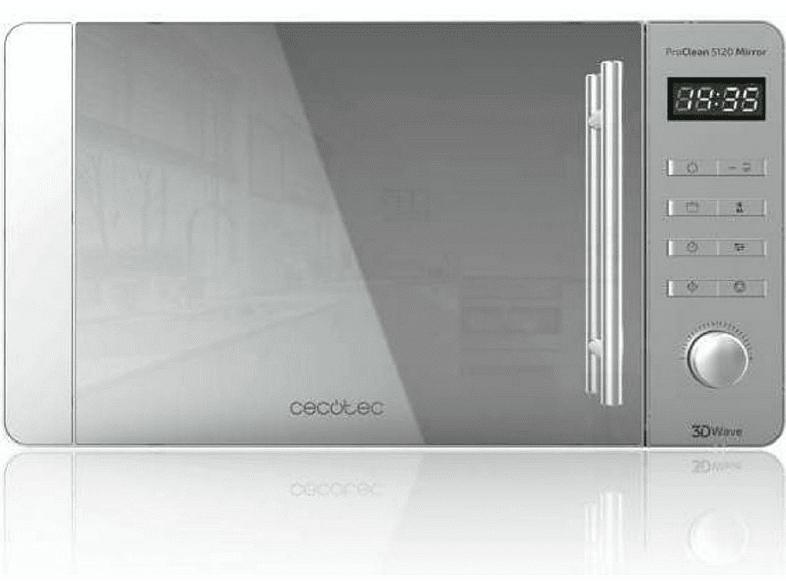 Microondas - ProClean 5120 Mirror, 800W, 20 L, 8 programas, Inox