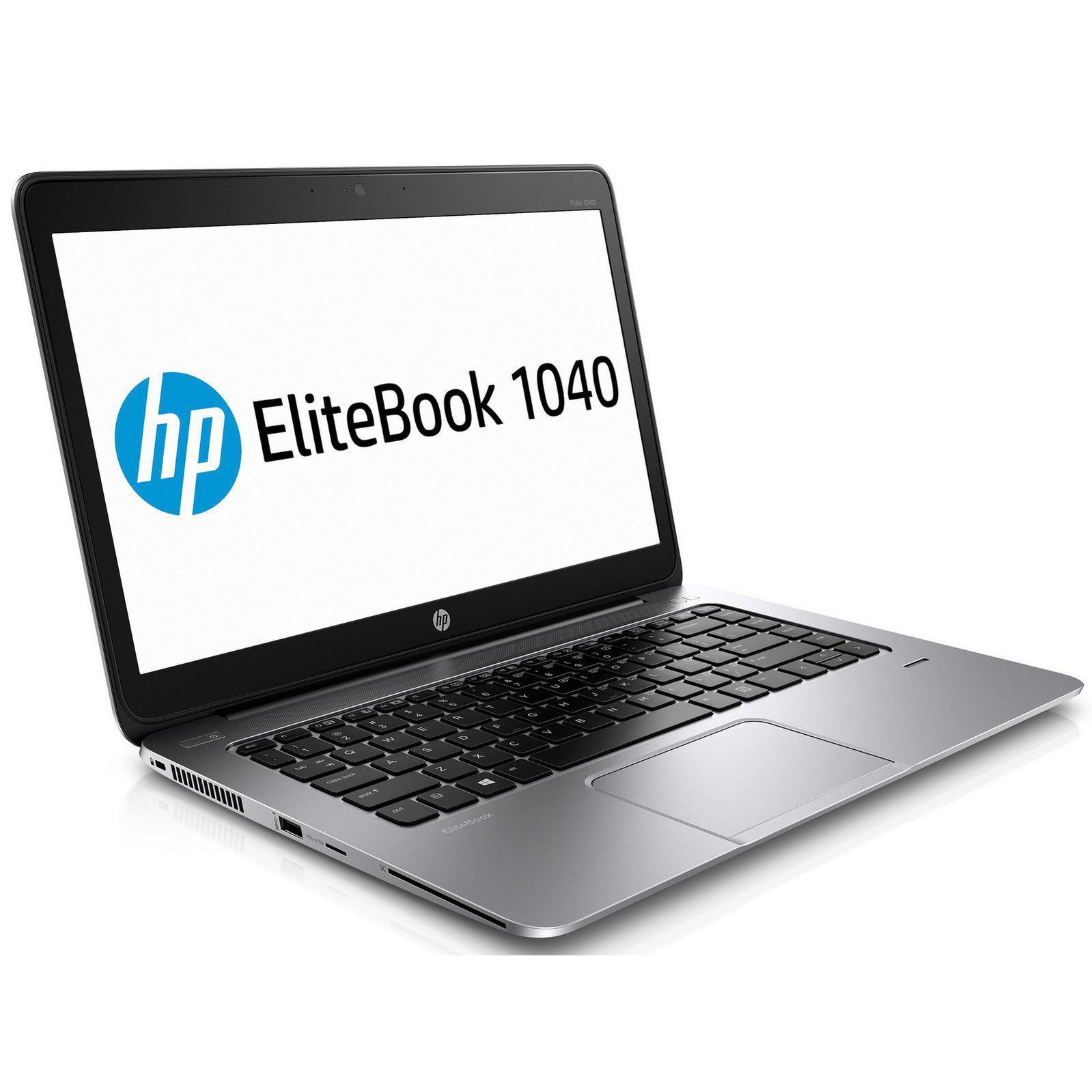 "OFERTÓN - Hp EliteBook Folio 1040 G2 14"" Core i7 2,6 GHz - SSD 256 GB (Reacondicionado)"