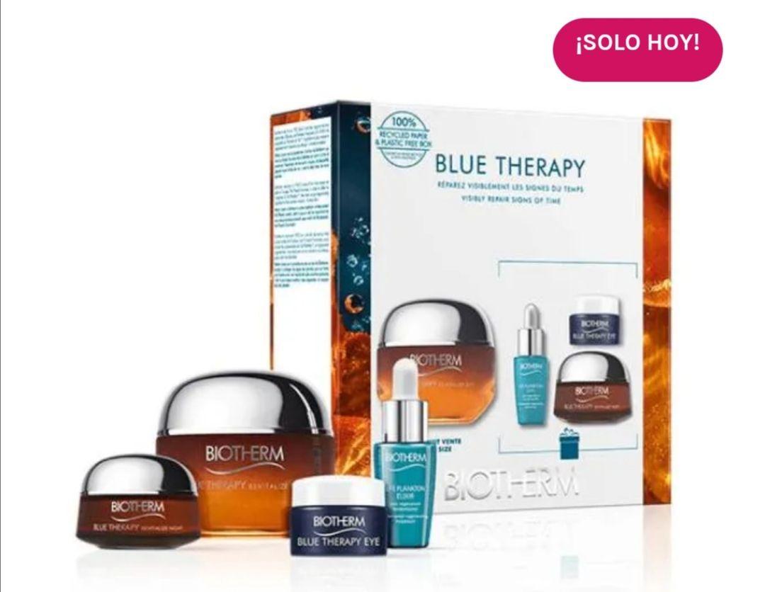 BIOTHERM Estuche Blue Therapy Amber Algae| 1UD Tratamiento reparador y revitalizante