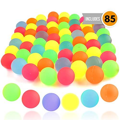 85 pelotas de goma saltarinas (reaco)