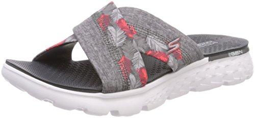 Skechers On-The-go 400-Tropical, Sandalias Flip-Flop para Mujer talla 37.