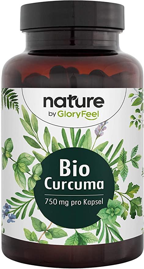 Cúrcuma orgánica - Pimienta negra orgánica 240 cápsulas
