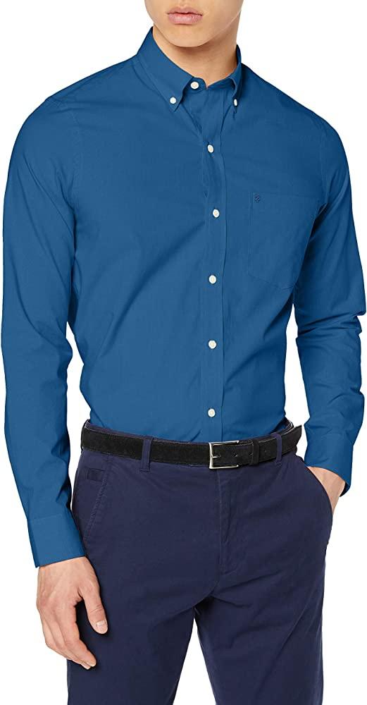 Izod Camisa Casual para Hombre Talla 41 (L)