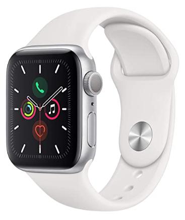 Apple Watch Series 5 40mm 393€ vendido y enviado por Amazon