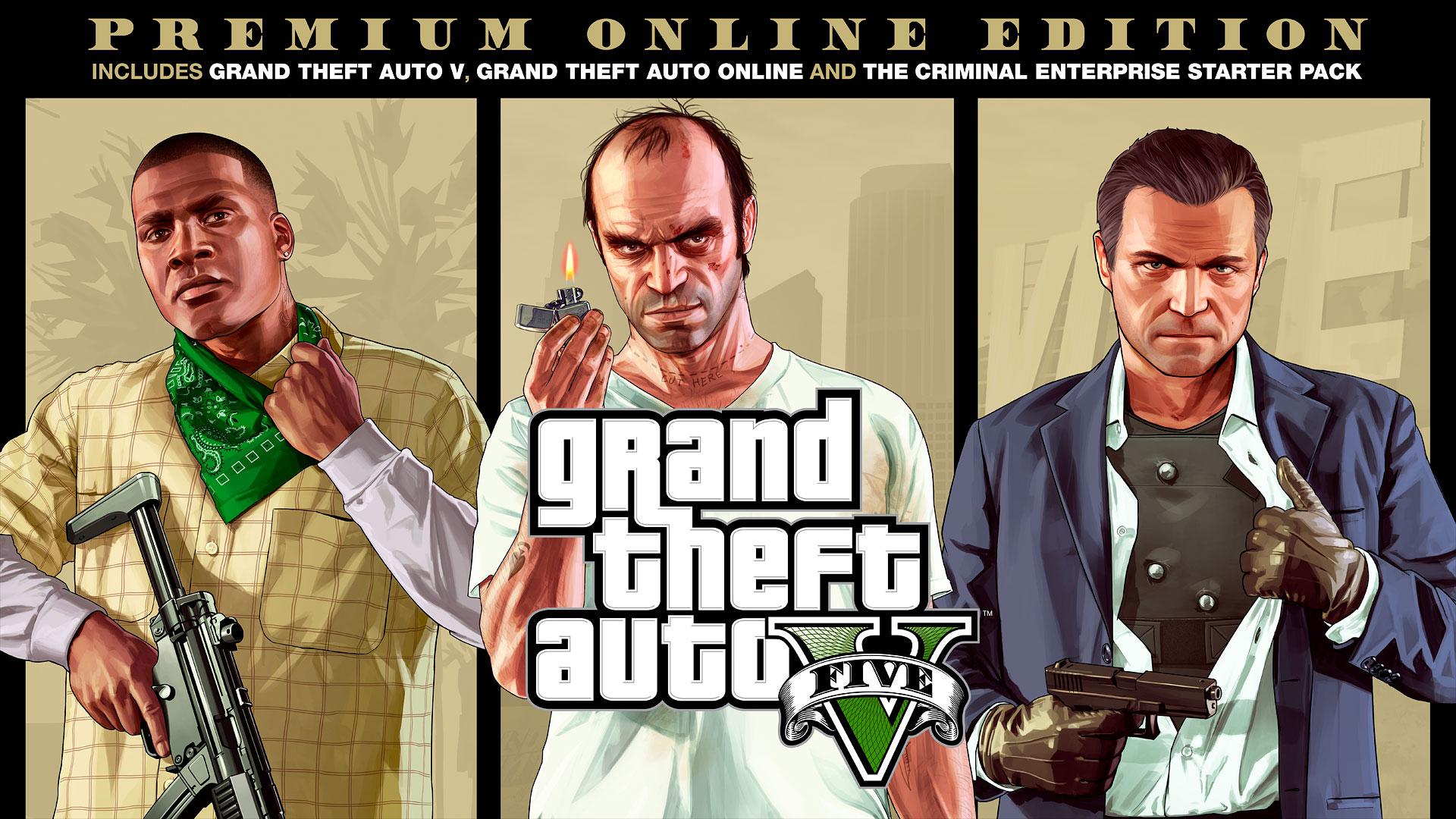 GTA V Premium Online Edition PC por solo 4,99€