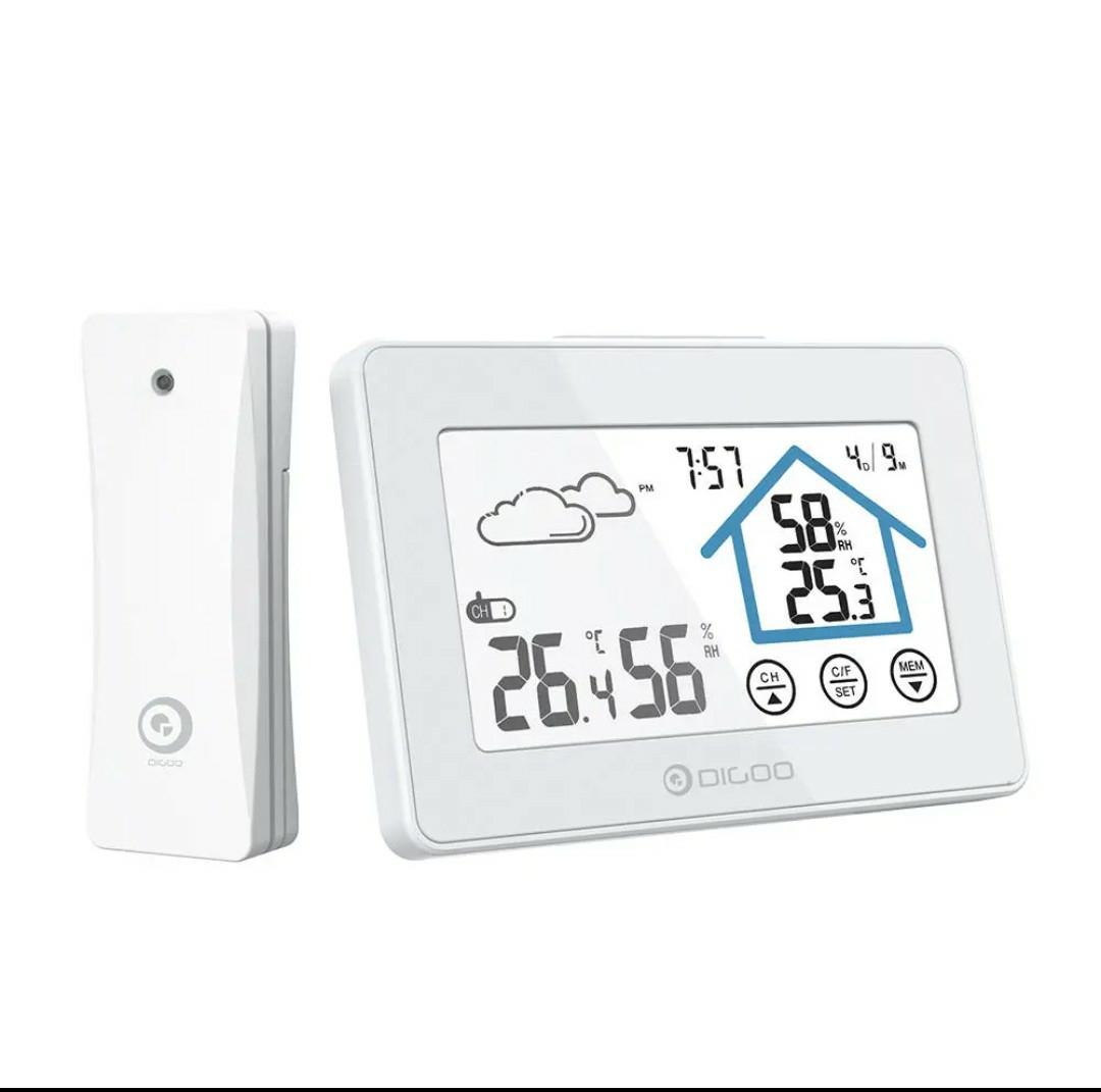Estación meteorológica con pantalla táctil DIGOO DG-TH8380