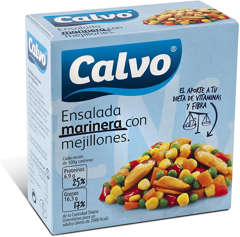Ensalada marinera con mejillones o con atún Calvo 0,86€ (compra recurrente)
