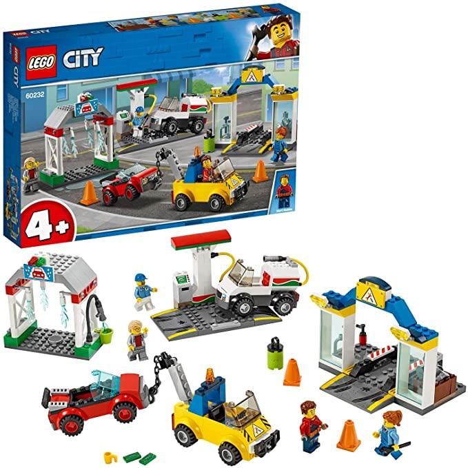 LEGO City Town - Centro Automovilístico Set de construcción con Coches de Juguete para Recrear Aventuras en la Ciudad