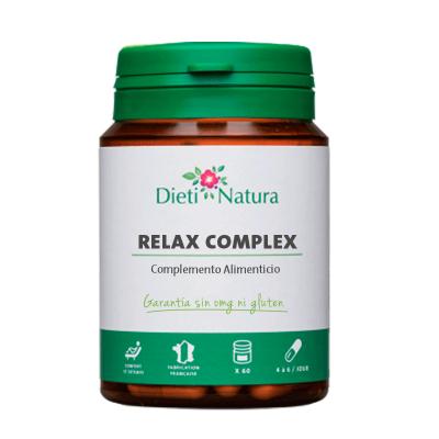 Relax Complex (Relax+) 3 botes de 60 cápsulas [6 botes al 50%]