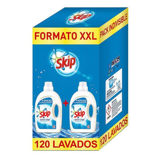 Skyp active clean 120 lavados
