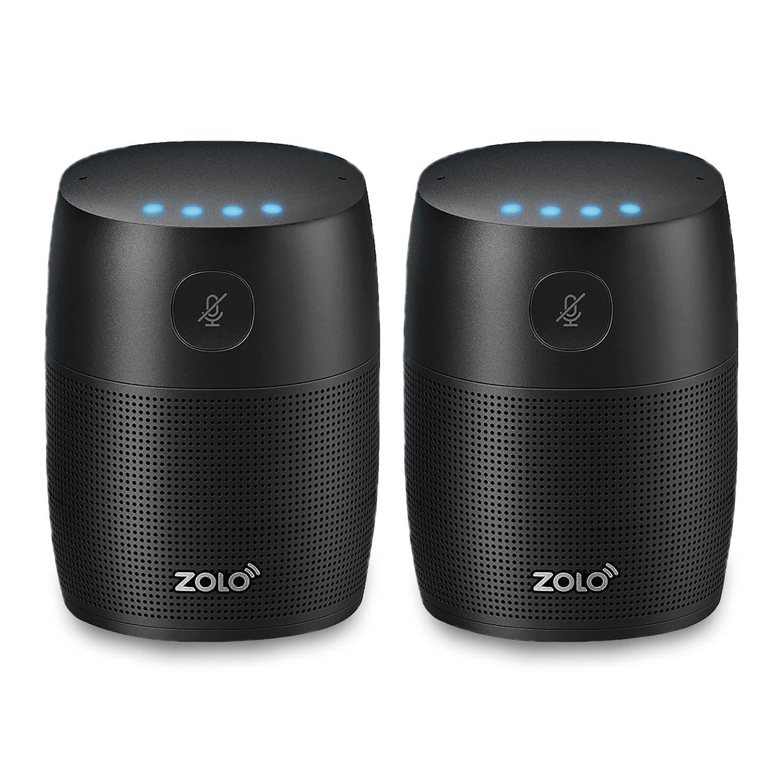 Altavoces inteligentes Zolo Mojo Twin Pack con Google Assistant