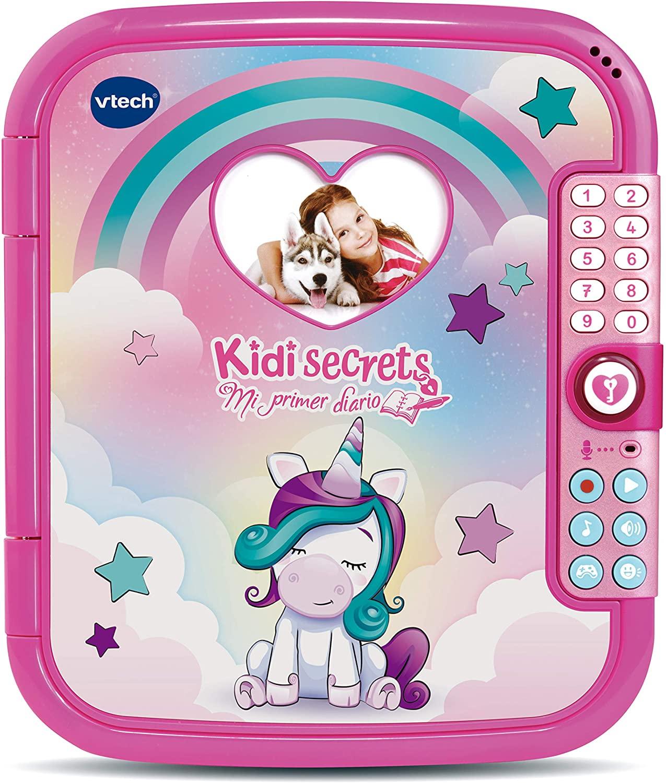 VTech - KidiSecrets Mi Primer Diario electrónico e Interactivo (REACOs Como NUEVO)