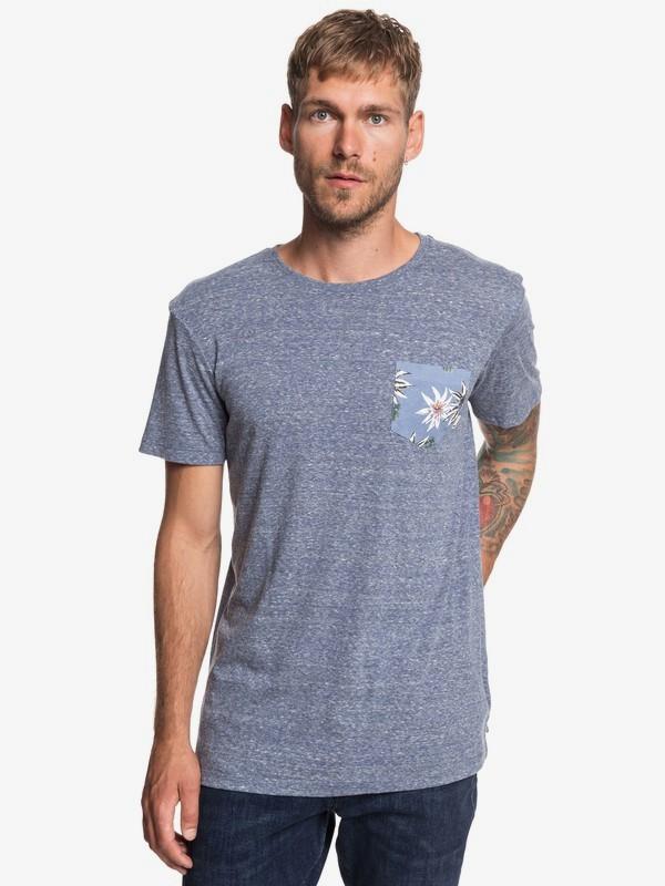 TALLA M: Broken Leash - Camiseta con Bolsillo para Hombre