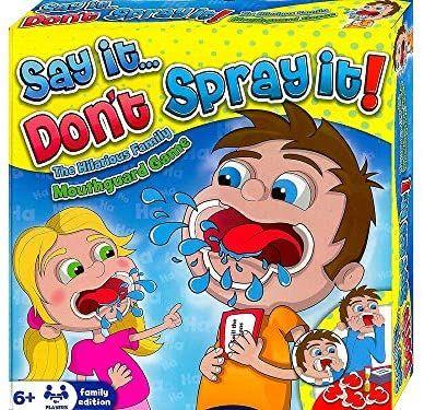 Juego de mesa Say it, Dont spray it