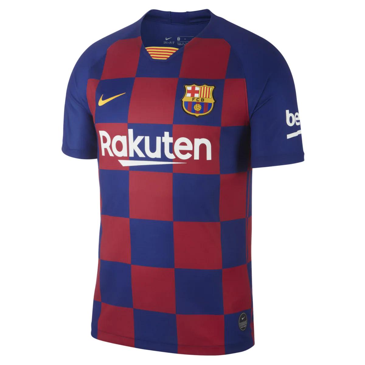 Camiseta de hombre 1ª equipación FC Barcelona 2019-2020 Breathe Stadium Nike