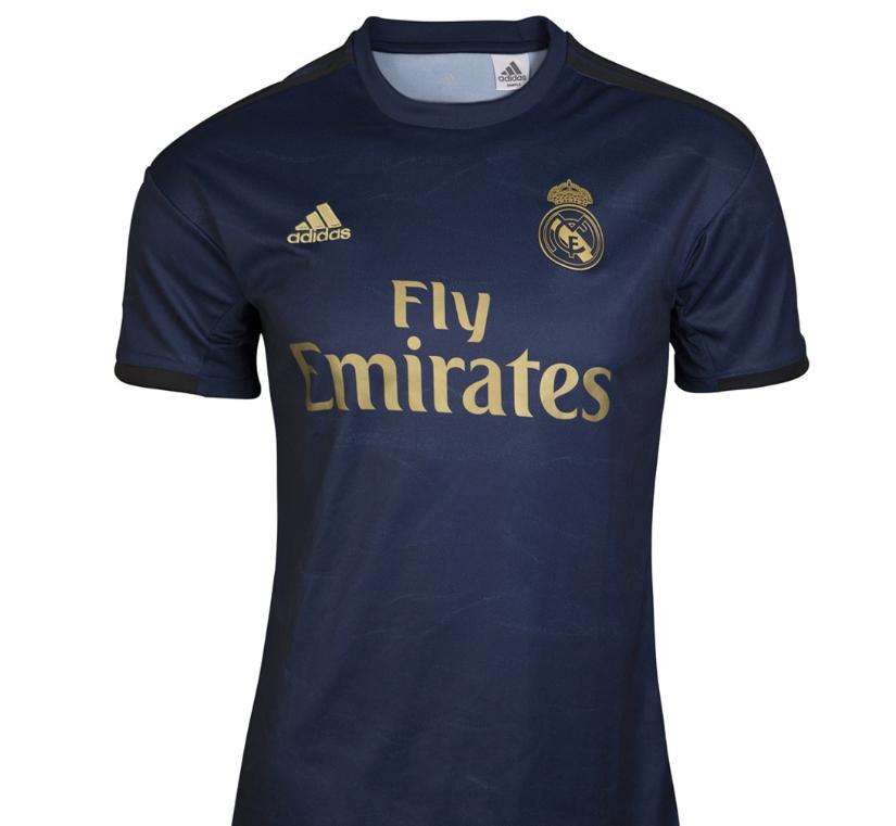 Camiseta de hombre 2ª equipación Real Madrid CF 2019-2020 adidas