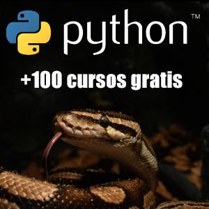 Python :: +100 Cursos Gratis de Programación (Udemy, Español, Inglés)