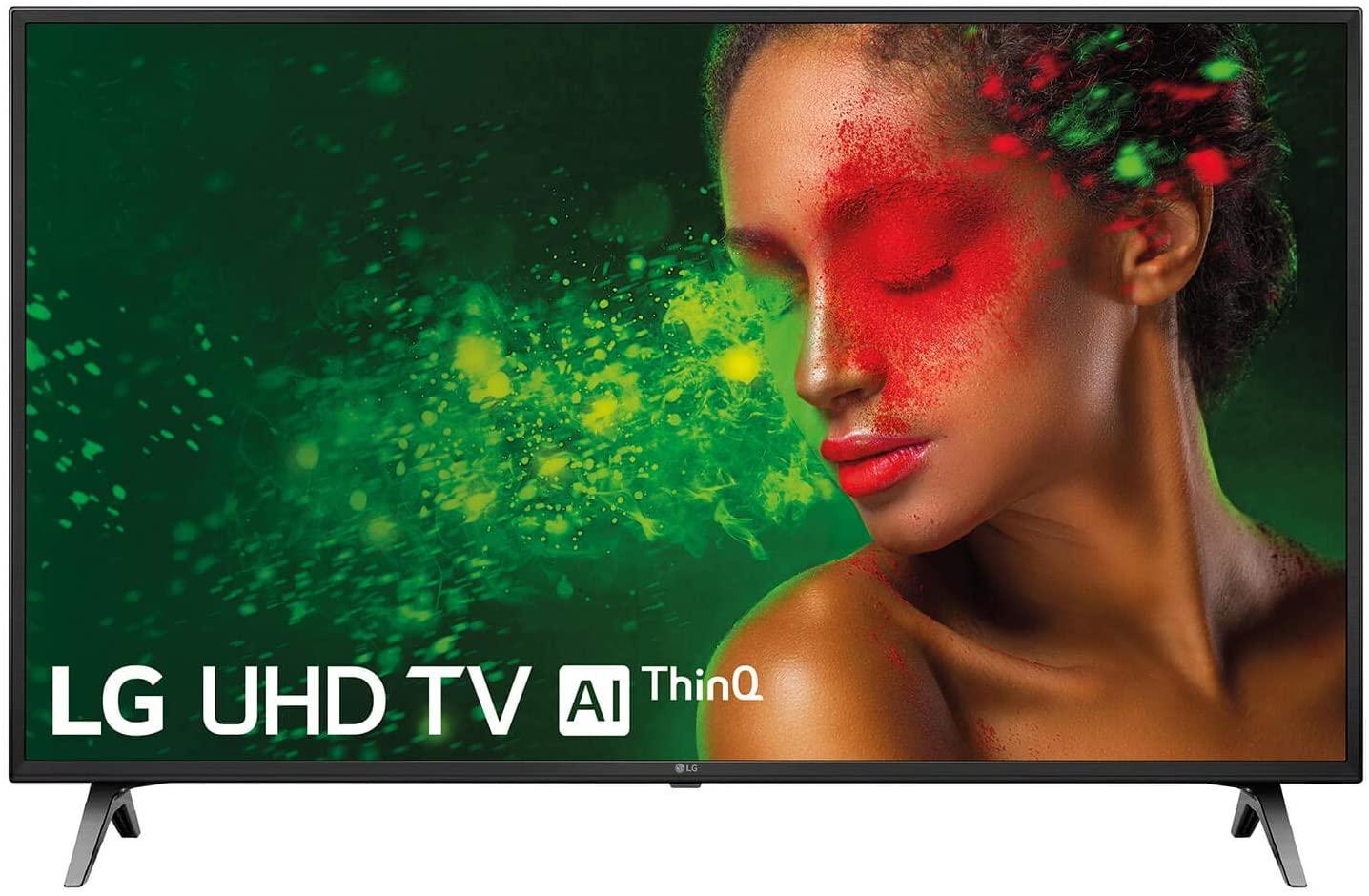 "LG 55UM7100ALEXA - Smart TV 4K UHD de 139 cm (55"") Works With Alexa (procesador Quad Core, HDR y Sonido Ultra Surround) color negro"