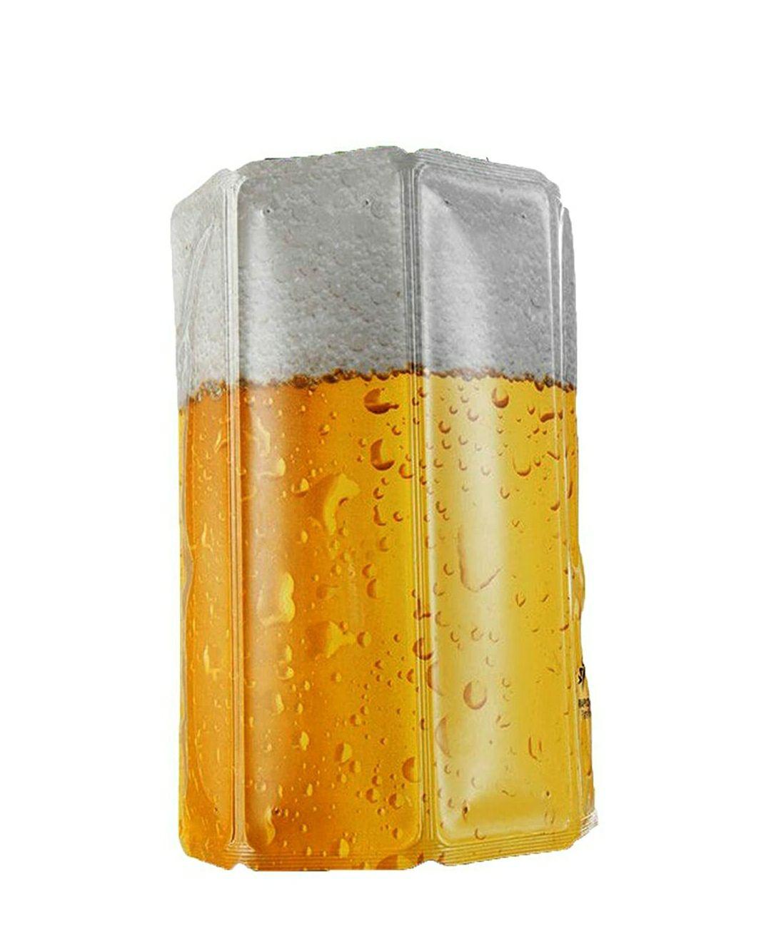 Enfriador para latas o botellín, Blanco/Amarillo