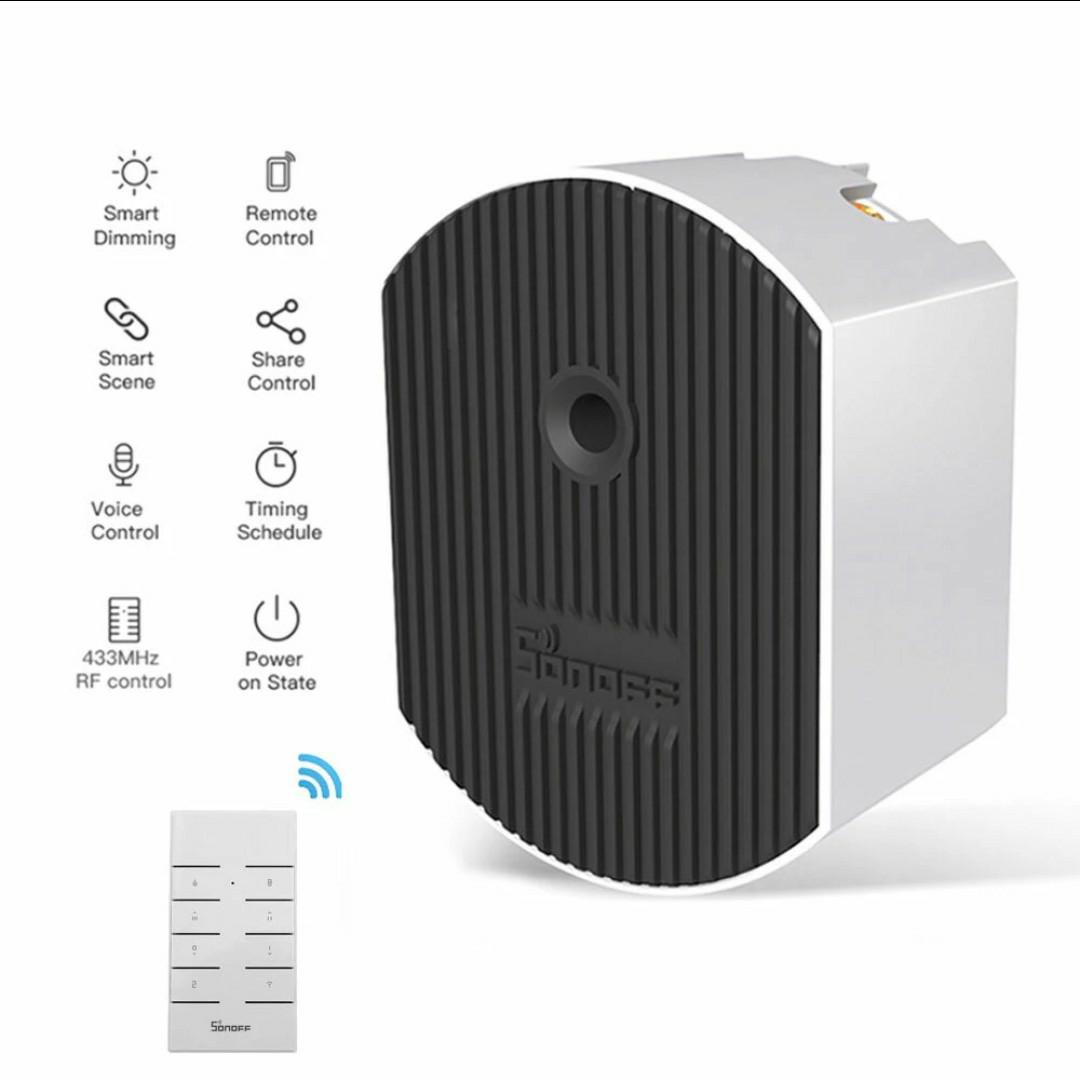 Smart Dimmer SONOFF compatible con Alexa y Google Home