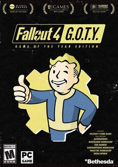 Fallout 4 GOTY (Steam) por solo 6,89€ (Mínimo)