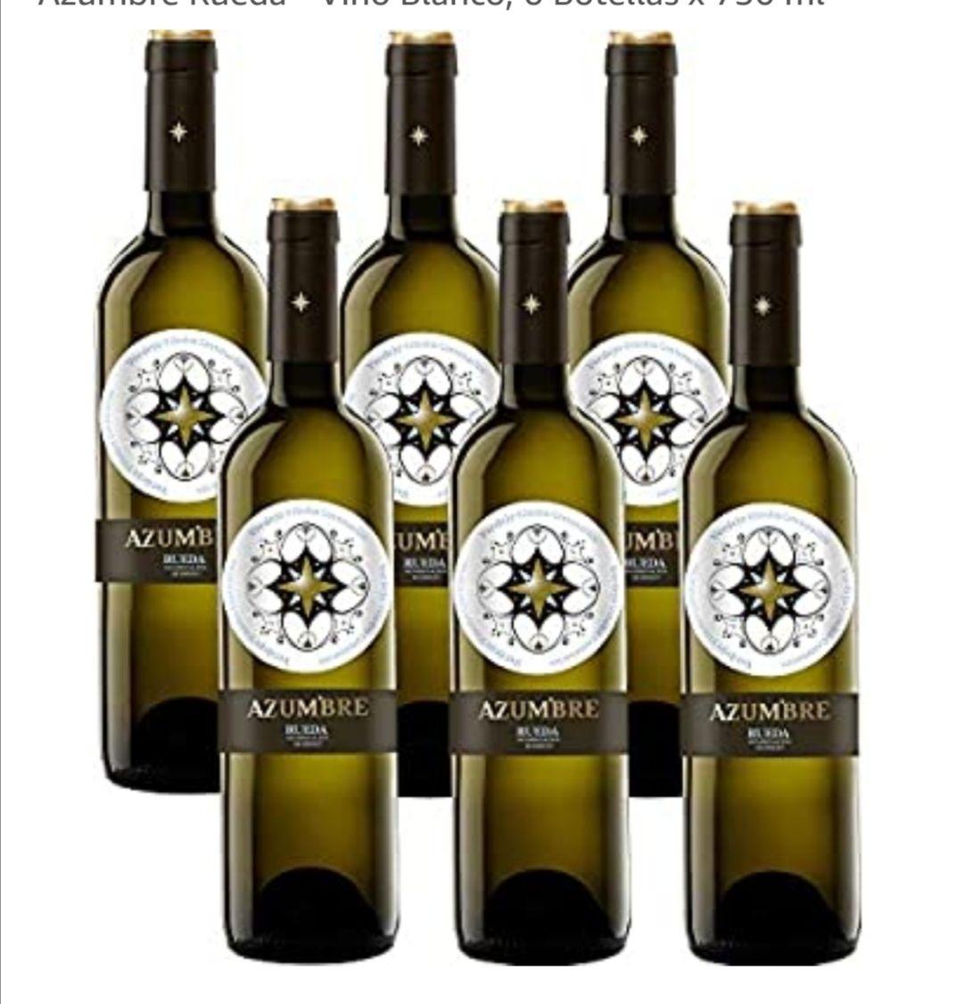 Azumbre Rueda - Vino Blanco, 6 Botellas x 750 ml