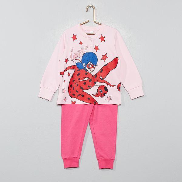 Pijama niña lady bug talla 3A