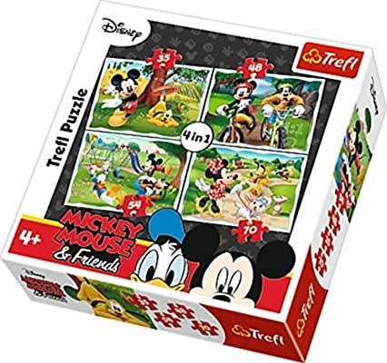 4 en 1 puzzles progresivos infantiles