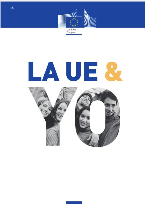 """Libro """"La UE y yo"""" gratis y a domicilio"""
