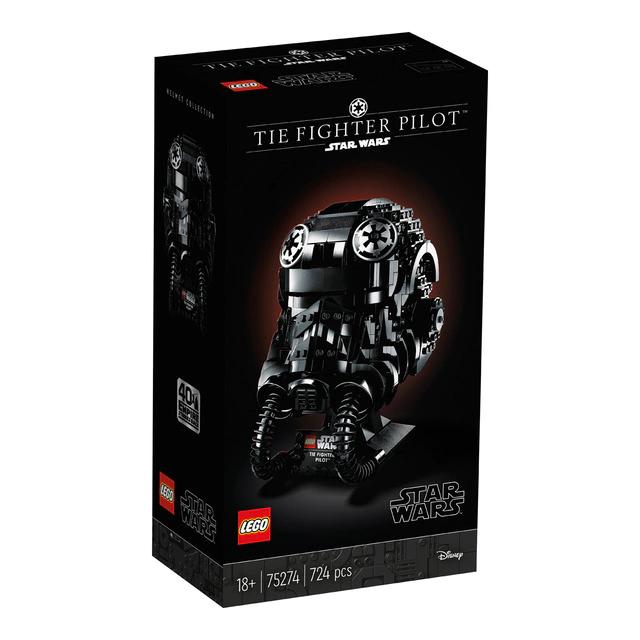Lego Star Wars - Casco de piloto de caza TIE